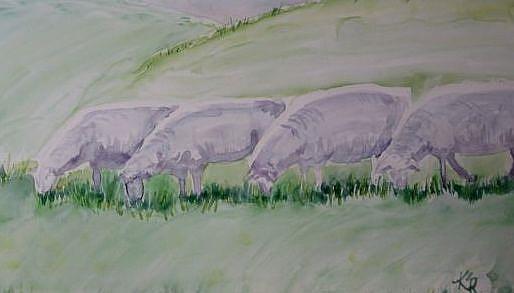 Art: The Grazers by Artist Kathleen Ralph