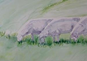 Detail Image for art The Grazers