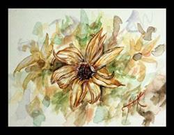 Art: A Daisies Diary by Artist Toneeke Runinwater - Henderson