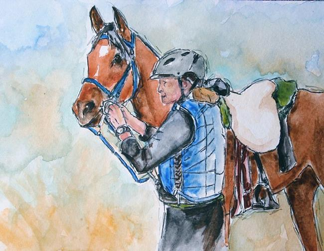 Art: Endurance race by Artist Deborah Sprague