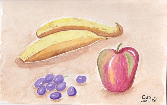 Art: Basic Fruit by Artist Dee Turner