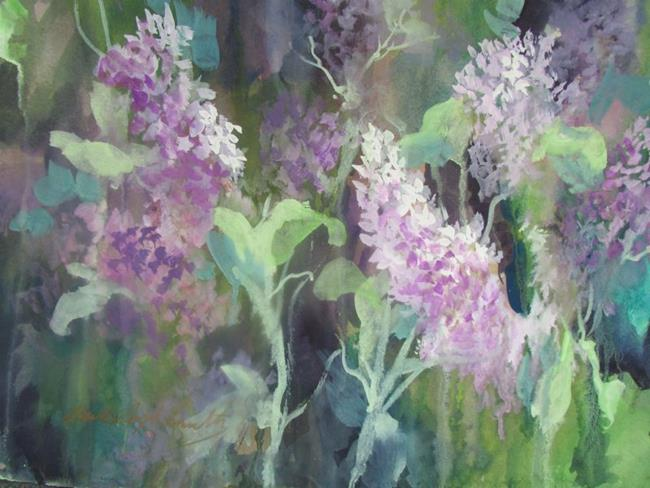 Art: LILAC DELIGHT by Artist Millie Gift Smith