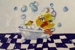 Art: Just Duckie by Artist Delilah Smith