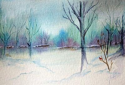 Art: Stillness by Artist Toneeke Runinwater - Henderson