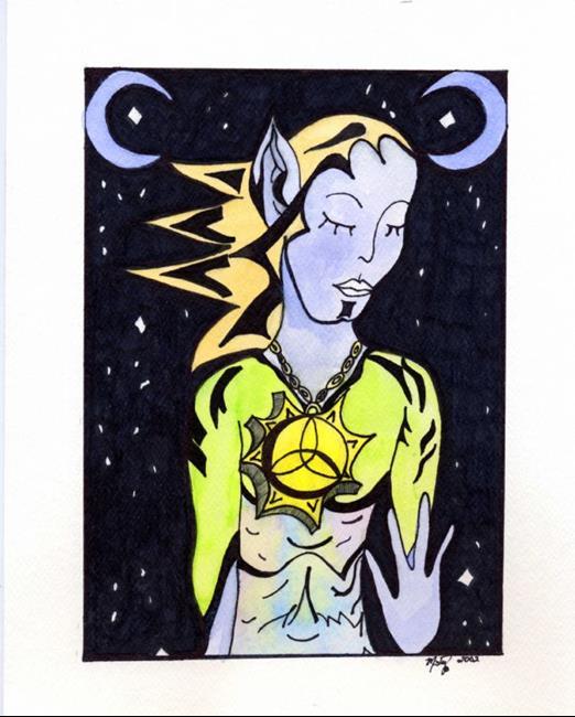 Art: Amalthea by Artist Misty Monster (Benson)