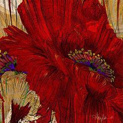 Art: Poppy Fields ab lr.jpg by Artist Alma Lee
