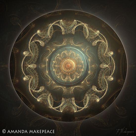 Art: Power Source by Artist Amanda Makepeace