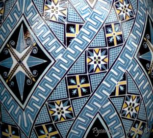 Detail Image for art Blue Geometric