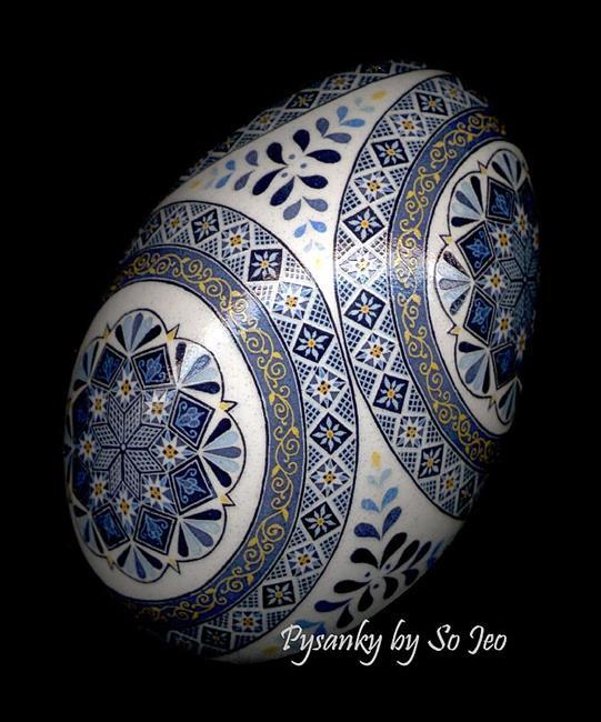 Art: Cerulean Blues by Artist So Jeo LeBlond