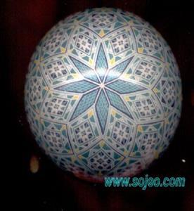 Detail Image for art Turqoise Diamonds & Stars