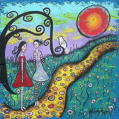 Art: Sisters' Secrets by Artist Juli Cady Ryan