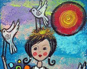 Detail Image for art Bird-Girl