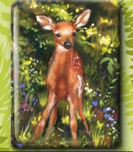 Detail Image for art Spring Fawn
