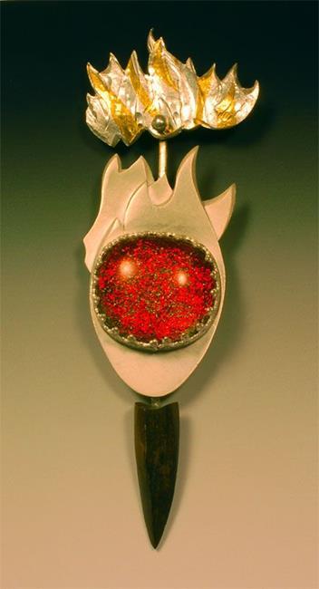 Art: Great Ball of Fire by Artist Robin Cruz McGee