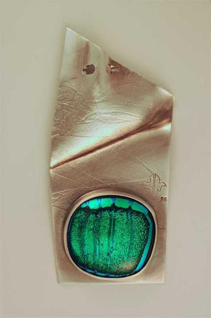 Art: The Eye of The Seven Seas Pendant by Artist Robin Cruz McGee