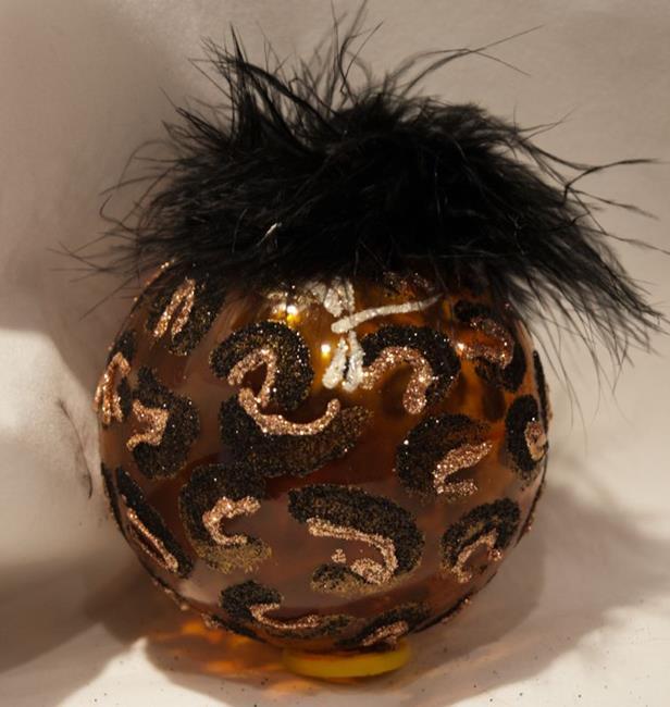 Art: 2012 Dragonfly Ball Amber Leopard # 22 by Artist Rebecca M Ronesi-Gutierrez