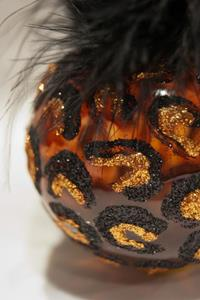Detail Image for art 2012 Dragonfly Ball Copper Leopard # 17