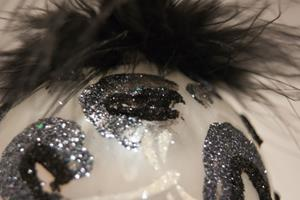 Detail Image for art 2012 Dragonfly Ball Silver Leopard # 18
