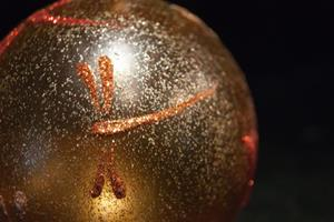 Detail Image for art 2012 Dragonfly Ball Warm Gold #15