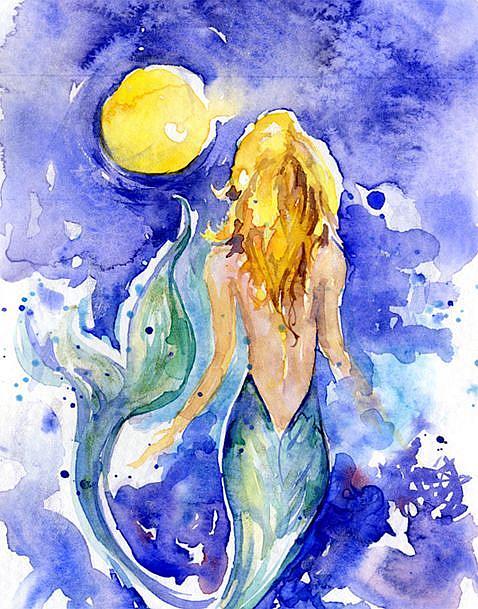 Art: Moon Wish by Artist Kathy Morton Stanion