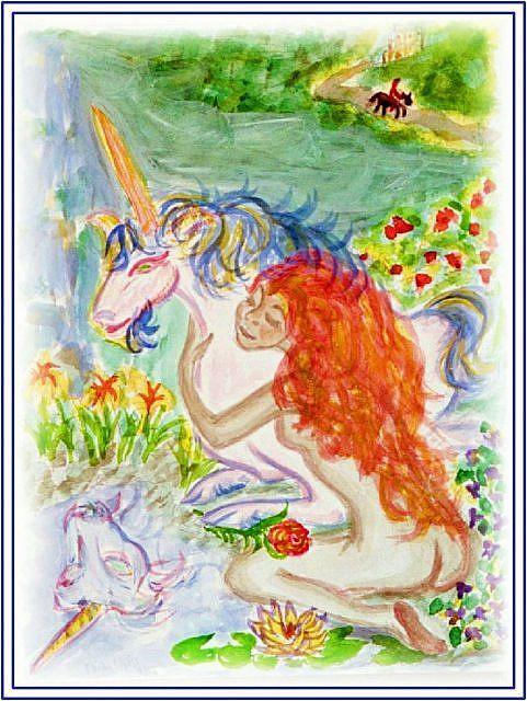 Art: Orphan Maiden by Artist Karin Elizabeth Weiss