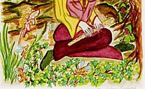 Detail Image for art Dame Nature's Habitat