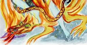 Detail Image for art Dragonfire Star