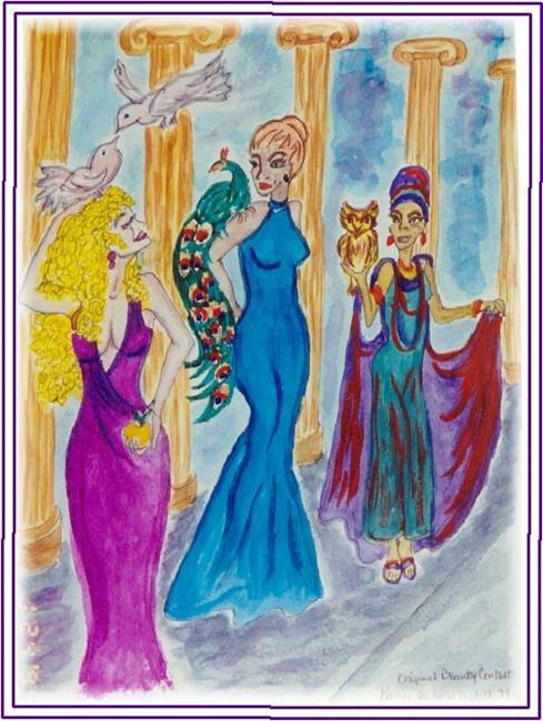 Art: The Original Beauty Pageant by Artist Karin Elizabeth Weiss