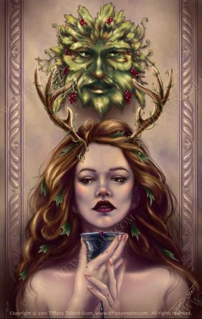 Art: Abundance by Artist Tiffany Toland-Scott