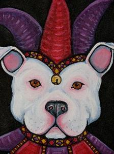 Detail Image for art Jester Bully Dog 1