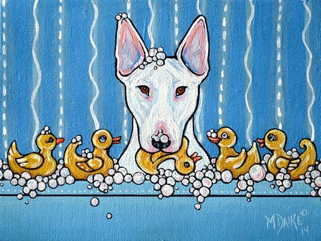 Art: Rubber Ducky You're the One by Artist Melinda Dalke