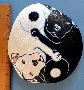 Detail Image for art Yin Yang Dogs 1