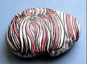 Detail Image for art Pink-Tzu Rock Dog