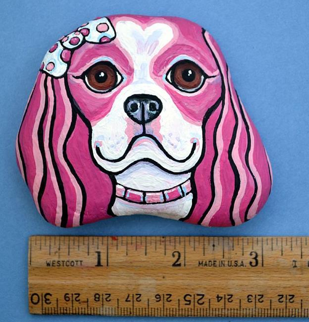 Art: Pink Lady 1 by Artist Melinda Dalke