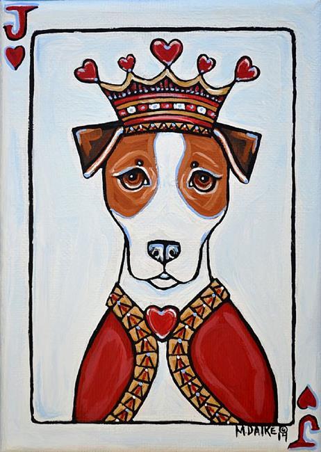Art: Jack of Hearts by Artist Melinda Dalke