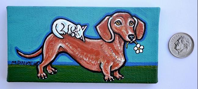 Art: Furry Best Friends by Artist Melinda Dalke