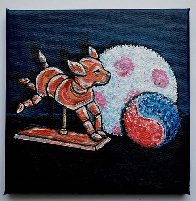 Art: Still Life - Dog Stuff 1 by Artist Melinda Dalke
