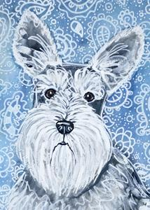 Detail Image for art Schnauzer in Blues