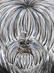 Detail Image for art Dog Study.jpg