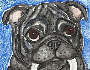 Detail Image for art Playtime Pug