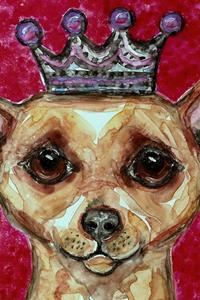 Detail Image for art Chihuahua and Pink