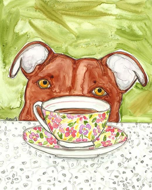 Art: Where's the Biscuit? by Artist Melinda Dalke