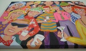 Detail Image for art Santaclaustrophobia