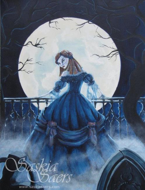 Art: Moonlight Vamp by Artist Saskia Franken-Saers