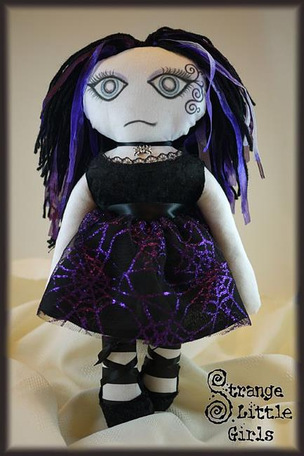 Art: OOAK gothic doll - Luna by Artist Jo Hards