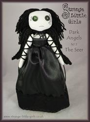 Art: Dark Angels - No.1 The Seer by Artist Jo Hards