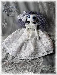 Art: Custom Ghost Doll by Artist Jo Hards