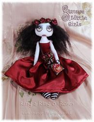 Art: Ring a Ring o Roses by Artist Jo Hards