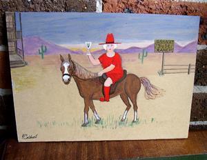Detail Image for art Gran's Dude Ranch