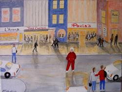 Art: Gran's Lost Again (Sold) by Artist Fran Caldwell